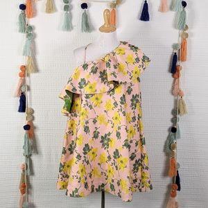 ASOS Floral Tapestry Mini Dress
